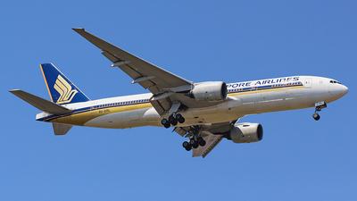 9V-SRL - Boeing 777-212(ER) - Singapore Airlines