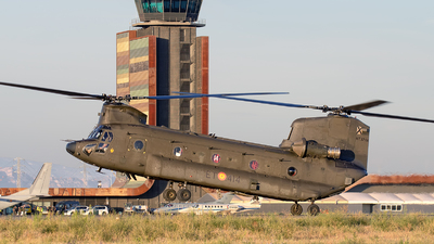 HT.17-14 - Boeing CH-47D Chinook - Spain - Army