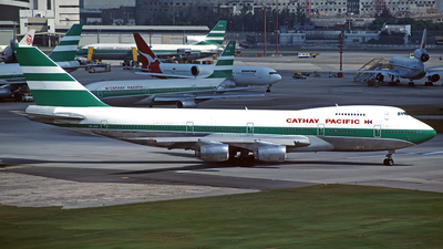 VR-HIA - Boeing 747-267B - Cathay Pacific Airways