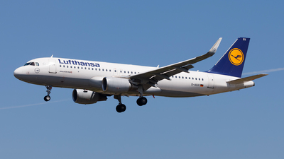 A picture of DAIUX - Airbus A320214 - Lufthansa - © Carlos Miguel Seabra