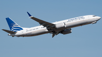 A picture of HP9902CMP - Boeing 737 MAX 9 - Copa Airlines - © Miguel Astudillo