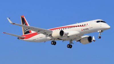 JA22MJ - Mitsubishi MRJ90STD - Mitsubishi Aircraft Corporation