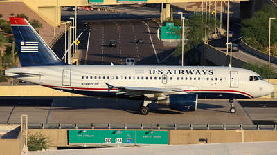 N768US - Airbus A319-112 - US Airways