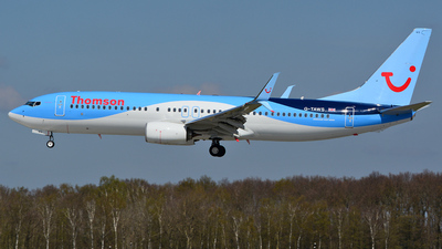 G-TAWS - Boeing 737-8K5 - Thomson Airways
