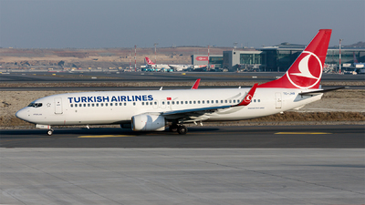 TC-JHB - Boeing 737-8F2 - Turkish Airlines