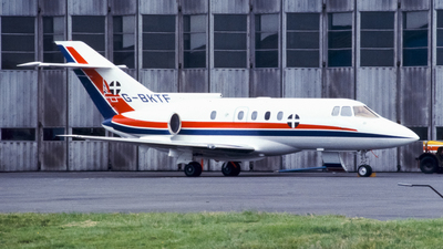 G-BKTF - British Aerospace BAe 125-800A - British Aerospace