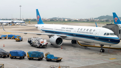 A picture of B8368 - Airbus A321271N - China Southern Airlines - © Mickey-Mi