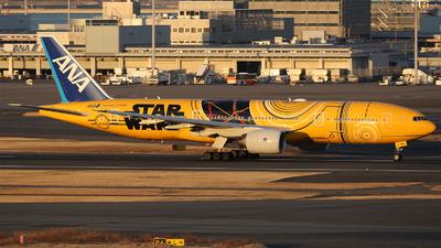 JA743A - Boeing 777-281(ER) - All Nippon Airways (ANA)