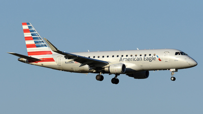 A picture of N256NN - Embraer E175LR - American Airlines - © DJ Reed - OPShots Photo Team