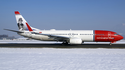 LN-NOR - Boeing 737-81D - Norwegian