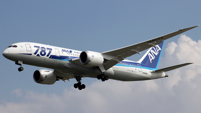 JA822A - Boeing 787-8 Dreamliner - All Nippon Airways (ANA)
