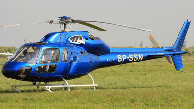 SP-SSN - Aérospatiale AS 355F2 Ecureuil 2 - Private