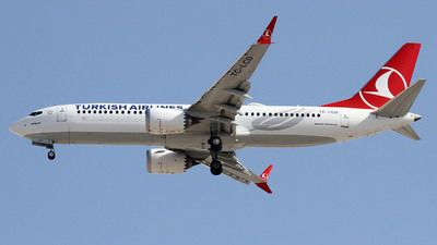 TC-LCD - Boeing 737-8 MAX - Turkish Airlines
