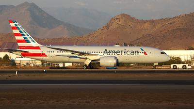 A picture of N871AY - Boeing 7878 Dreamliner - American Airlines - © Claudio SpotterPrado