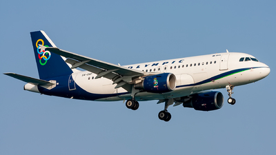 SX-OAF - Airbus A319-112 - Olympic Air