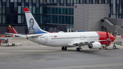 LN-ENR - Boeing 737-8JP - Norwegian