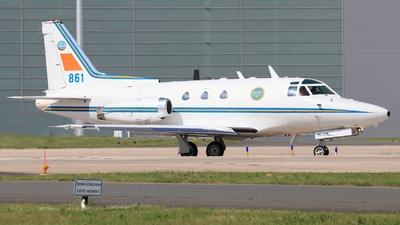 86001 - North American Sabreliner TP86 - Sweden - Air Force