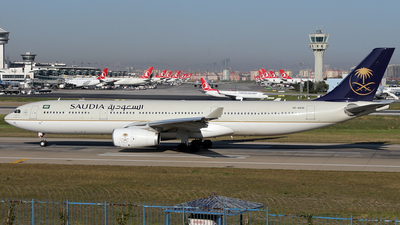 HZ-AQ30 - Airbus A330-343 - Saudi Arabian Airlines
