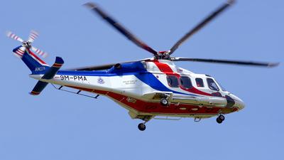9M-PMA - Agusta-Westland AW-139 - Malaysia - Police