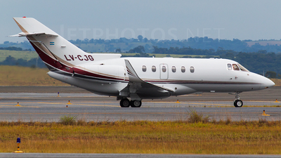 LV-CJG - Raytheon Hawker 800XP - Private