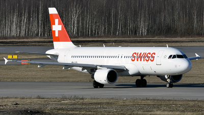 A picture of HBJLS - Airbus A320214 - Swiss - © Luba Ostrovskaya