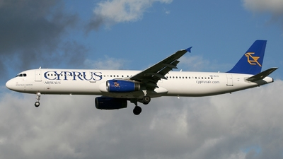5B-DCO - Airbus A321-231 - Cyprus Airways