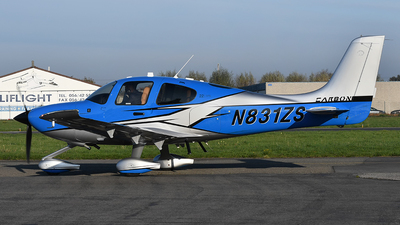 A picture of N831ZS - Cirrus SR22 - [4831] - © diopere geert