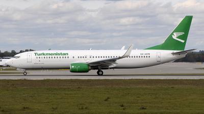 EZ-A019 - Boeing 737-82K - Turkmenistan Airlines