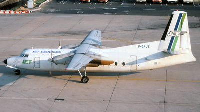 F-GFJS - Fokker F27-600 Friendship - Air Jet