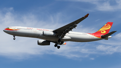 A picture of B6539 - Airbus A330343 - Hainan Airlines - © ceci wong