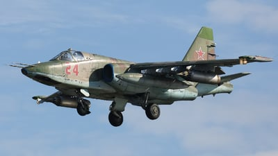 RF-93054 - Sukhoi Su-25SM Frogfoot - Russia - Air Force