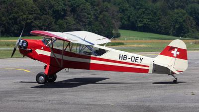 HB-OEY - Piper J-3C-65 Cub - Private