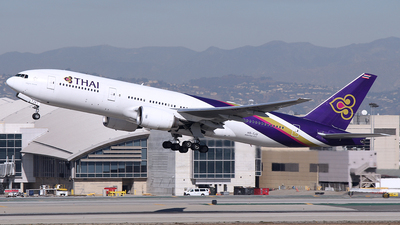 HS-TJV - Boeing 777-2D7(ER) - Thai Airways International