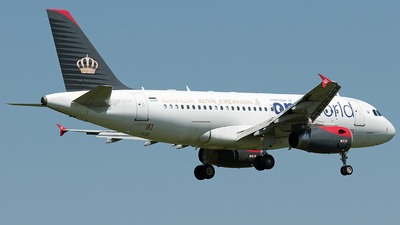 JY-AYP - Airbus A319-132 - Royal Jordanian