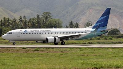 PK-GEM - Boeing 737-8AS - Garuda Indonesia
