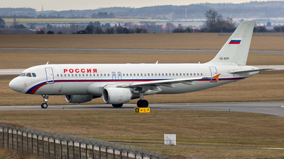 VQ-BDR - Airbus A320-214 - Rossiya Airlines