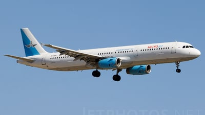 EI-FBH - Airbus A321-231 - MetroJet