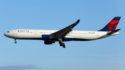 A picture of N819NW - Airbus A330323 - Delta Air Lines - © TJDarmstadt