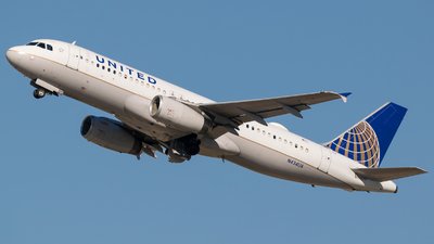 N434UA - Airbus A320-232 - United Airlines