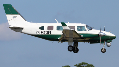 G-SCIR - Piper PA-31-310 Navajo C - 2 Excel Aviation