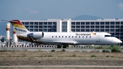 OE-LCL - Bombardier CRJ-200LR - Tyrolean Airways