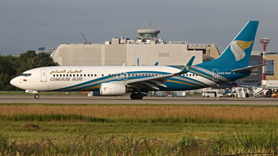 A picture of A4OBAF - Boeing 7378SH - Oman Air - © Airyura