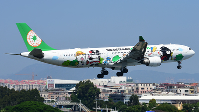 A picture of B16331 - Airbus A330302 - EVA Air - © D_Y6888