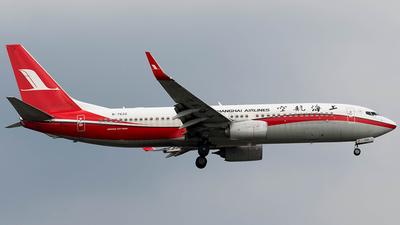 B-7632 - Boeing 737-89P - Shanghai Airlines