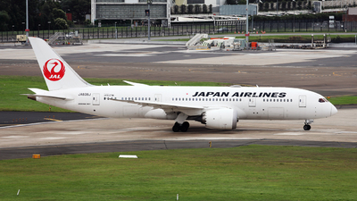 A picture of JA838J - Boeing 7878 Dreamliner - Japan Airlines - © Morris Biondi