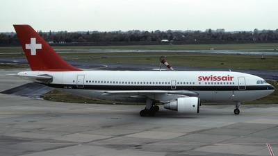 HB-IPE - Airbus A310-222 - Swissair