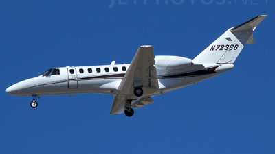 N723SG - Cessna 525B CitationJet 3 - Private