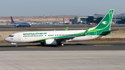 YI-ASQ - Boeing 737-81Z - Iraqi Airways