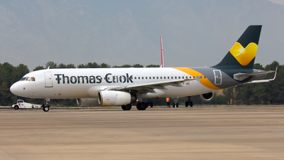 LY-VEL - Airbus A320-232 - Thomas Cook Airlines (Avion Express)