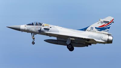 2020 - Dassault Mirage 2000-5EI - Taiwan - Air Force